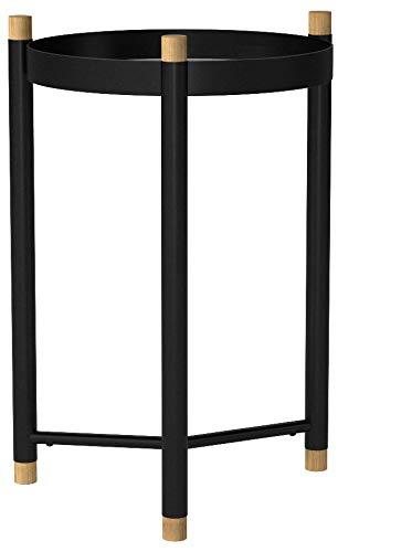 Kela Oak Coffee Table, Metal, Black, 40x 40x 52.5cm by Kela (Image #7)