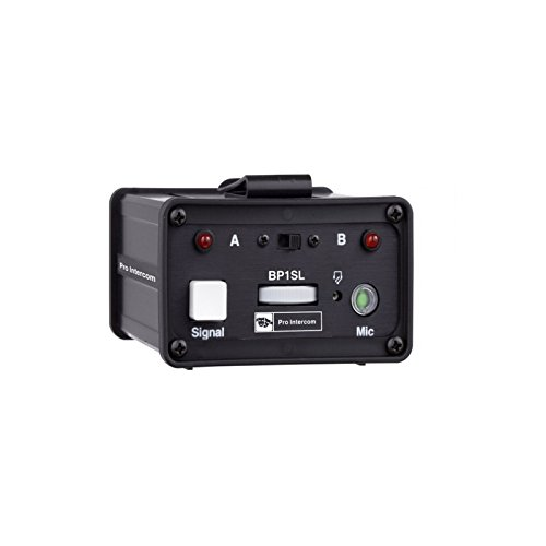 Pro Intercom BP1SL | Switchable Circuit A or B Portable Headset Station by Pro Intercom