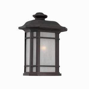 Acclaim 8103ABZ Somerset Collection Pocket Lantern 1-Light Outdoor Light Fixture, Architectural Bronze by - Somerset Collection Stores