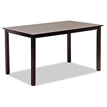 Muebles Baratos Mesa de Comedor Color Wengué Rectangular ...