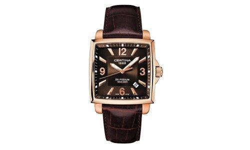 Certina Men's Watches DS Podium Square C001.510.36.297.00 - 2
