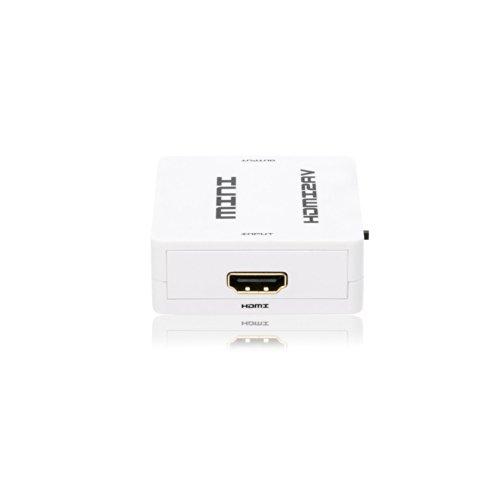 Eastvita® 10hc Mini Hdmi to 3rca Cvbs Composite Video Av Converter Adapter
