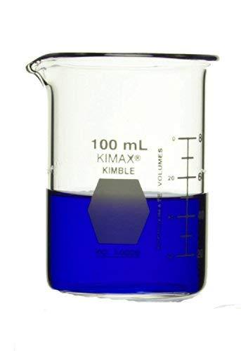 DWK Life Sciences (Kimble) 14000-100, Beaker, 100 mL, 12 per Package