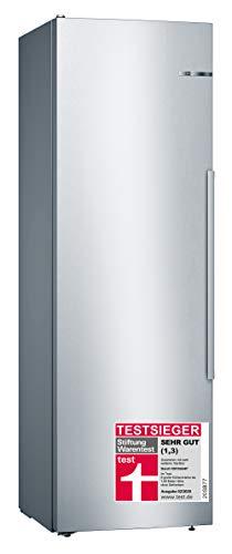 Bosch Serie 6 KSV36AI4P Independiente 346L A+++ Acero inoxidable – Frigorífico (346 L, Sistema de descongelado, SN-T, 39…