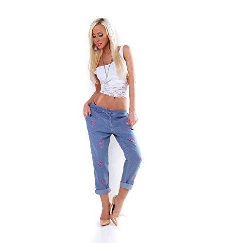 Italy Blau Italy Jeans Made Made Donna Jeans Donna zq5wHU7