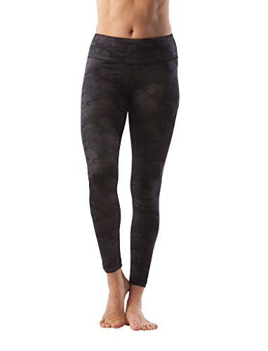 90 Degree By Reflex Performance Activewear - Printed Yoga Leggings