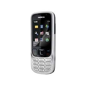 """Nokia 6303 Classic - Móvil libre (pantalla de 2,2"""" 320 x 240, 32 MB de capacidad) color acero"""