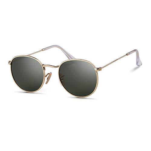 - Round Sunglasses Polarized Sunglasses For Women Men Reflective Sunglasses 3447
