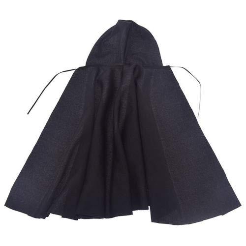 FidgetKute 1/6 Scale Female Cloak Long Coat for 12 inch Action Figure Toys Accessories Gift Black from FidgetKute