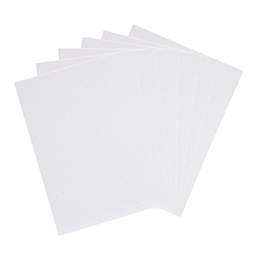Mega crafts 6 pcs metallic eva foam sheets 9 39 39 x 12 for Craft ideas using foam sheets