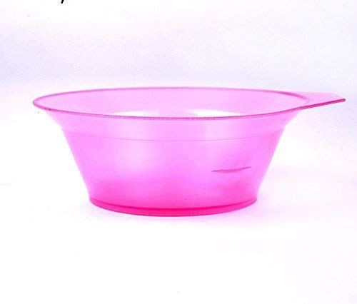 Clear Purple 6oz Hairdressing Tool Plastic Hair Tint Coloring Dye Bowl Salon Use MTSZZF