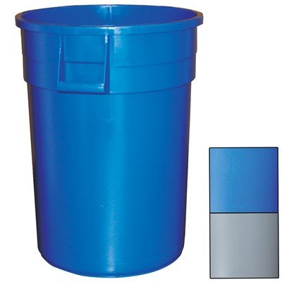 Impact Gator@ Container,19 1/4'' x 23 1/8'' H – 20 gal, Blue