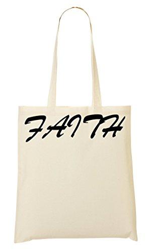 Faith Typography Bolso De Mano Bolsa De La Compra
