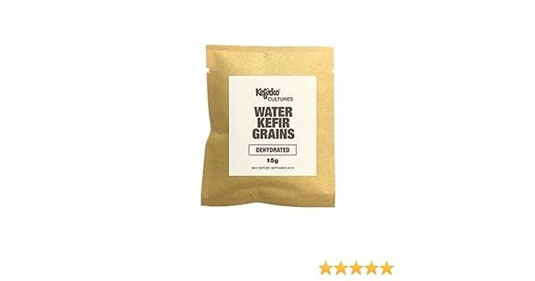Gránulos de kéfir de agua deshidratados: Amazon.es: Alimentación y bebidas