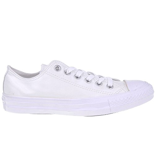 Converse Womens Chuck Taylor All Star Ox White Canvas Trainers 38 EU