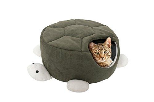 Karlie 68144Panier pour chien/chat en forme de tortue Vert 45x 45x 18cm