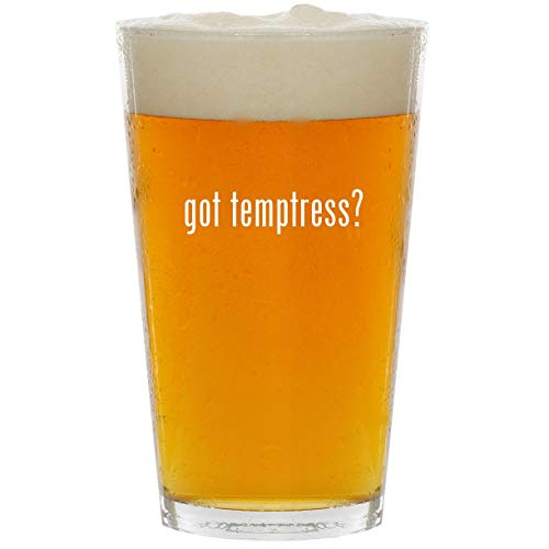 got temptress? - Glass 16oz Beer -