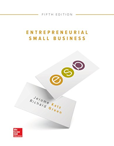 1259573796 - Entrepreneurial Small Business
