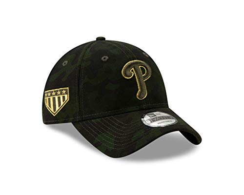 New Era Philadelphia Phillies 2019 MLB Armed Forces Day 9TWENTY Adjustable Hat - Camo ()