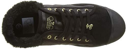 Basic Black Black Fur Sneaker Temps fur Nero Des 02 Donna Le Cerises wzBq1tx