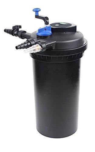 Bc-elec CPF-15000 Biologischer Druckfilter für Becken bis 30000L - Lampe UV 18W