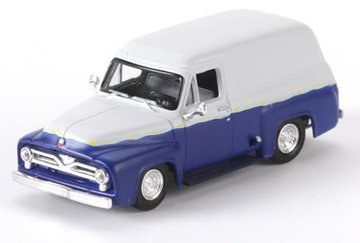 Athearn - HO RTR 1955 Ford F-100 Panel Truck, (1955 Ford Panel Truck)