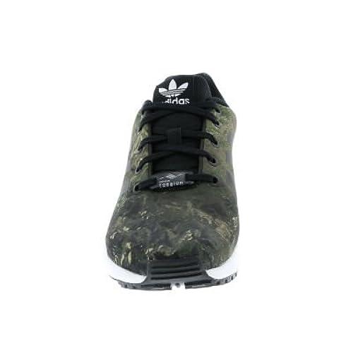 sale retailer 5a9e5 48d63 adidas ZX Flux J, Chaussures de Fitness Mixte enfant, Noir (Negbas Negbas