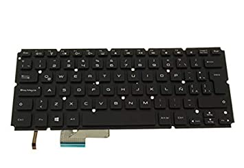 Teclado para portátil DELL para XPS 14 L421X P30G 15 L521X P23F negro con retroiluminación La América Latina NSK-L60BC 1E 0J8CVV J8CVV: Amazon.es: ...