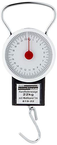 Mannesmann 819-22Federwaage Bis 22Kg Mit Maßband