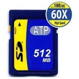 (512MB Secure Digital Sd Card 60X Hi-Speed Water/ESD Proof SLC)