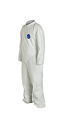 DuPont Tyvek 400 TY120S Disposable Protective Coverall, White, 5X-Large (Pack of 25) by DuPont (Image #4)