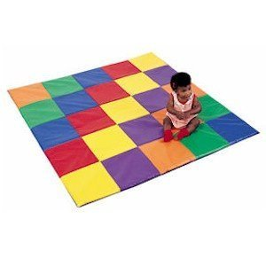 PATCHWORK CRAWLEY MAT by Children's Factory