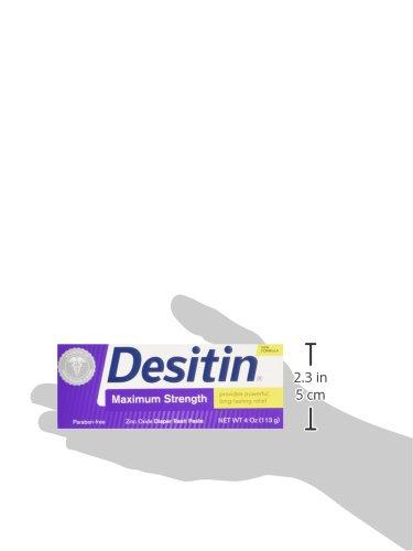 Large Product Image of Desitin Baby Diaper Rash Maximum Strength Original Paste, 4 Oz Tube