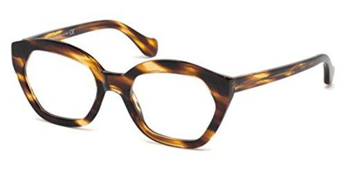 Balenciaga - BA5060, Geometric, acetate, women, STRIPED BROWN(050 E), 51/19/140