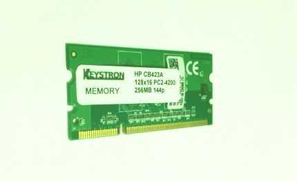 256MB Memory Upgrade for HP LaserJet Pro 400, M451dn, M451dw, M451nw Printer
