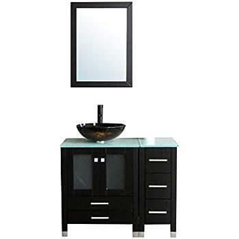 virtu usa ms 36 g es vincente 36 inch single sink bathroom Reclaimed 48 Inch Single Sink Bathroom Vanity 48 Inch Bathroom Vanity No Top