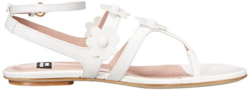 Boutique Moschino Dames Gladiator Sandaal Wit