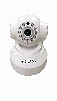 720P Ip camera? Wifi security home monitoring Night Vision,Two Way Audio For iPhone/Android Phone Installation 64G or Cloud storage ?AOLANS?