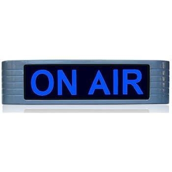 amazon com on air sign light for recording studio radio station new