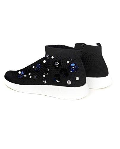 Zara Donna Sneakers Stivaletto a Fiori 1403/301