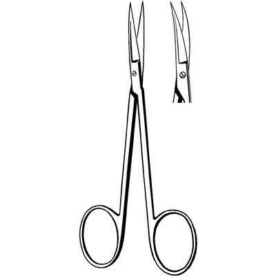 Sklar Instrument 21-109 Econo Iris Scissors, Curved, 4-1/2