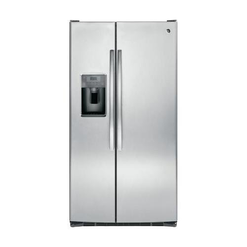 GE GSS25GSHSS 25.4 Cu. Ft. Stainless Steel Side-By-Side Refrigerator