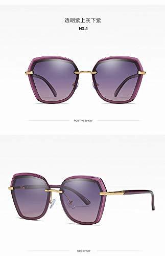 1e81e987e2acc Polarisés Claire Uv400 La Lentille Lunettes Optique De Soleil Femme Monture  eyeware mesdames Protection L ombre ...