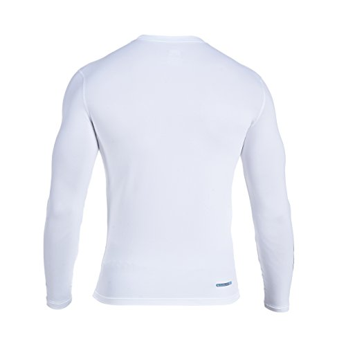 Amazon.com : Canterbury of New Zealand Mens Long Sleeve Cold Baselayer Shirt - L, White : Sports & Outdoors