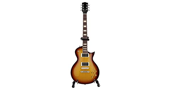 Axe Heaven: Classic Tobacco Sunburst Electric Miniature Guitar Model. para Guitarra Electrica: Amazon.es: Instrumentos musicales