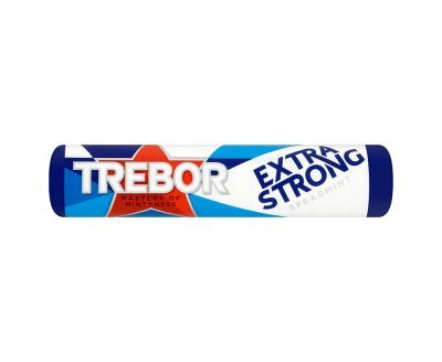 Trebor Extra Strong Spearmint Roll (40 - Strong Extra Mints Roll