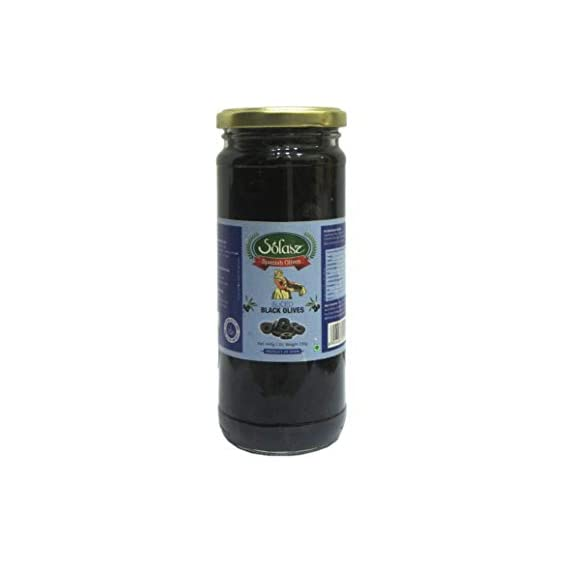 Solasz Black Sliced Olives-230g