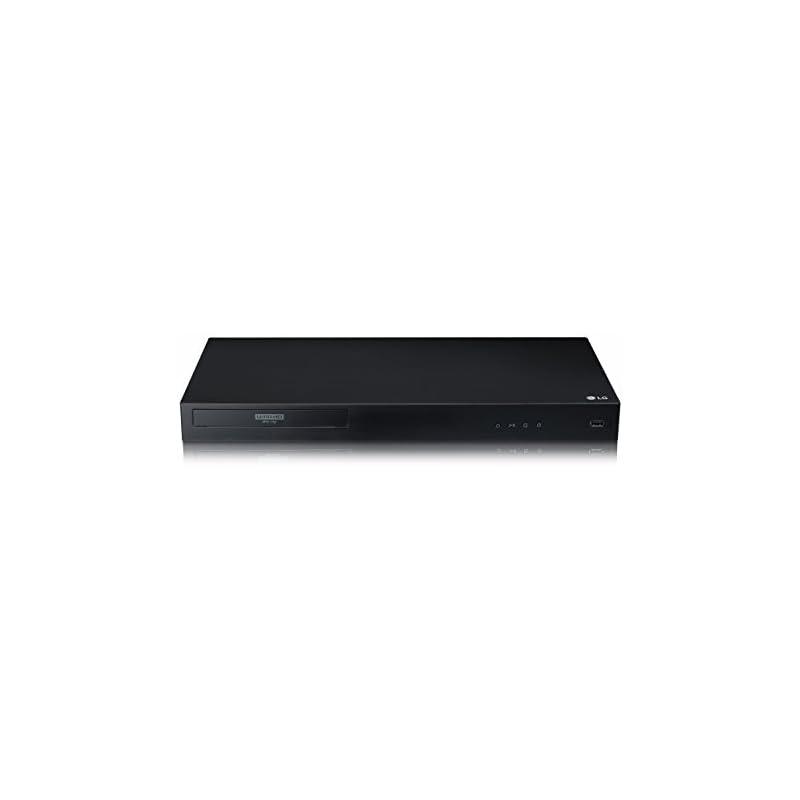 LG UBK80 4K Ultra-HD Blu-ray Player with