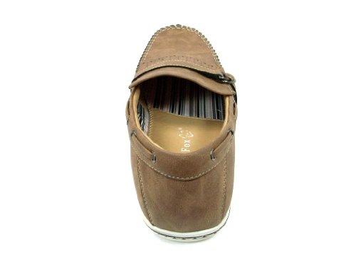 Heren 30217 Mocassin-franjeslip Op Casual Loafer Schoenen Bruin