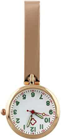NICERIO Nurse Clip on Watch Durable Fob Watch Hanging Watch Unisex Digital Pocket Watches for Nurse and Doctor